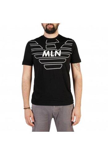 Emporio Armani Heren T-shirt - zwart