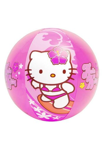 Hello Kitty Strandbal opblaasbaar - 51cm