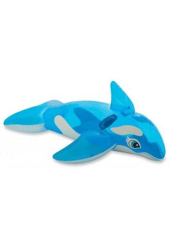 Intex Opblaas orka blauw/wit - 163x67 cm
