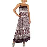Damen Kleid von Fee Rot Gr. eine Größe - Wein