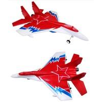 Straaljager - stuntvliegtuig - 2.4GHz - rood