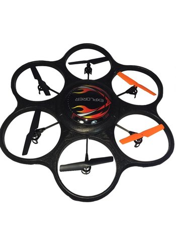 Haobo Toys Drone - LED light - 6-axis - 2.4 GHz
