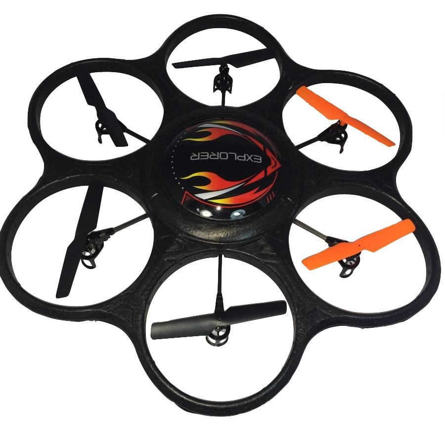 Drone - LED light - 6-axis - 2.4 GHz