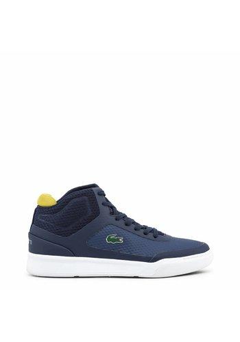 Lacoste Heren Sneaker 734CAM0023_EXPLORATEUR - blauw