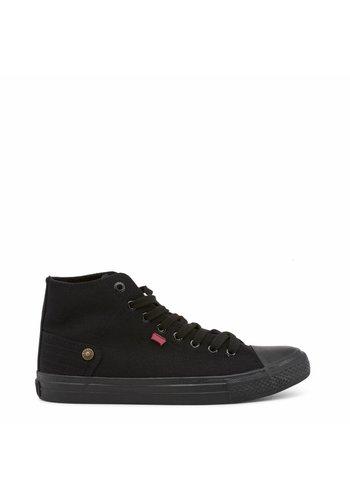 Carrera Jeans Heren hoge Sneakers CAM81000 - zwart