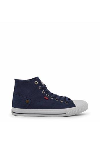 Carrera Jeans Heren hoge Sneakers CAM81000 - blauw