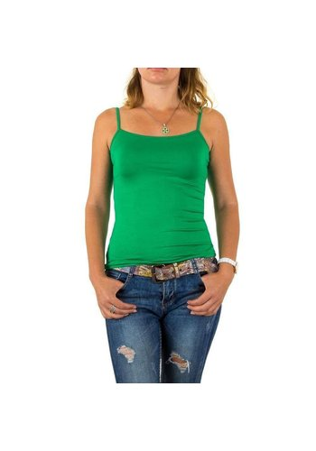 Neckermann Damen Top Gr. eine Größe - grün