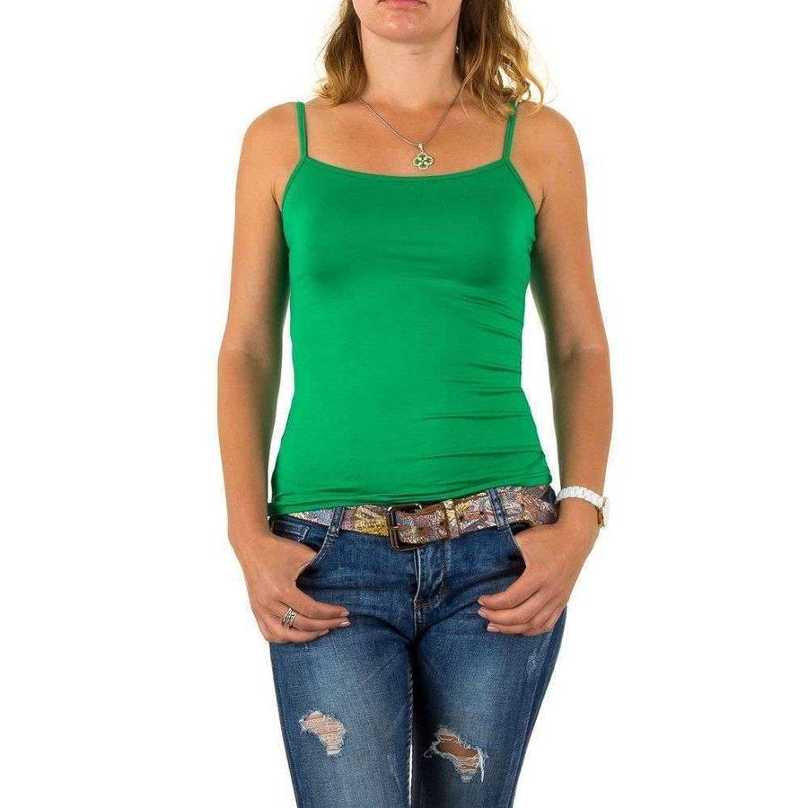 Damen Top Gr. eine Größe - grün