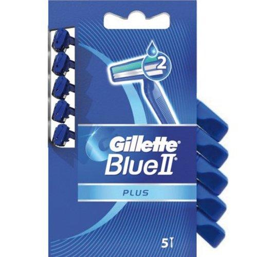 Gillette Blue II Plus - lames de rasoir jetables - 5 pièces