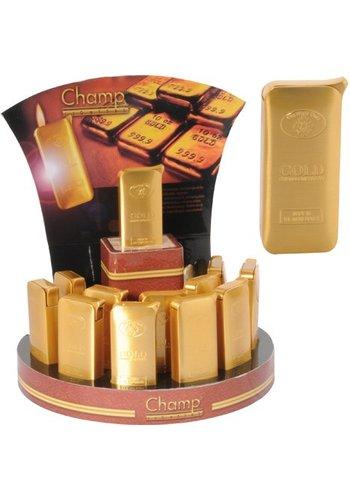 Champ Luxe Aansteker elektrische Metal Gold Bar
