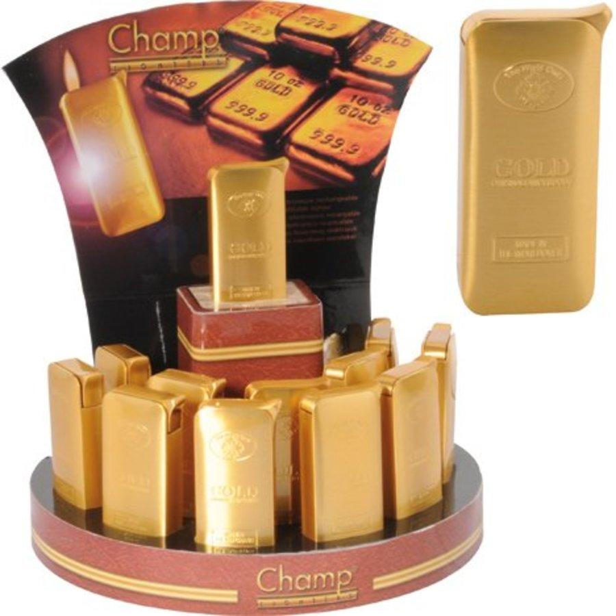 Luxus Feuerzeug Elektrische Metall Gold Bar