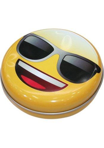 emoji EMOJI Aufbewahrungsbox aus Metall 12x 3,5cm