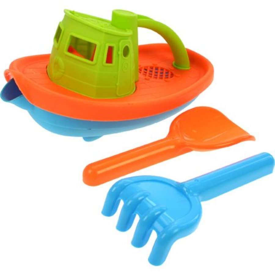 Sandspielzeug Set 23x14cm mit Schaufel und Rechen 16cm