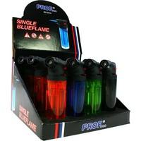 Feuerzeug elekt. Blue Flame Turbo 12St. in Displ.