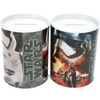 Metall Sparschwein rund Star Wars - 10 x 7,5 cm - sortiert