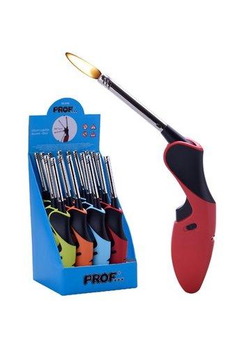 Prof Gas aansteker met flexibel staaf , 24x4cm
