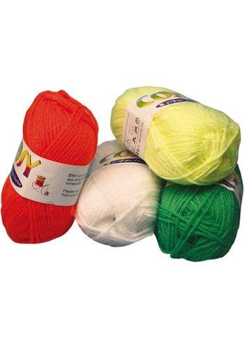 Neckermann Wol - 50 gram /130 meter - diverse kleuren
