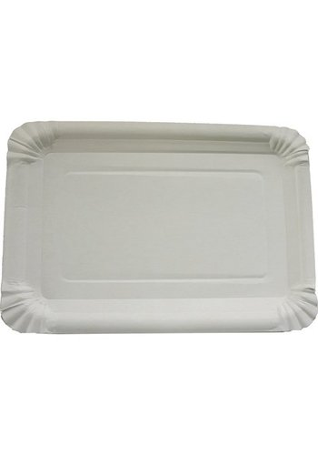 Neckermann Assiettes de fête - 10 pièces - 6x23cm - blanc
