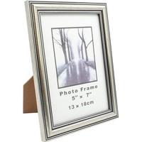 Fotorahmen Antik Silber Fotoformat 13x18cm Kunststoff