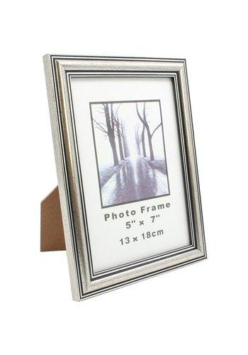 Neckermann Fotolijst Antiek zilver Foto formaat 13x18cm kunststof
