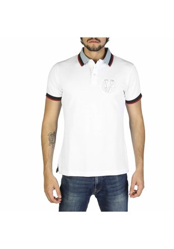 Versace Jeans Herren Polo - weiß