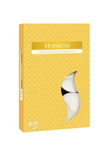 Aura Teelicht Parfüm Duft 6 Stück Hypnose