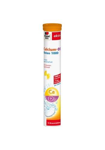 Doppelherz Calcium + D3 Osteo 1000 15 Stück Brausetablette