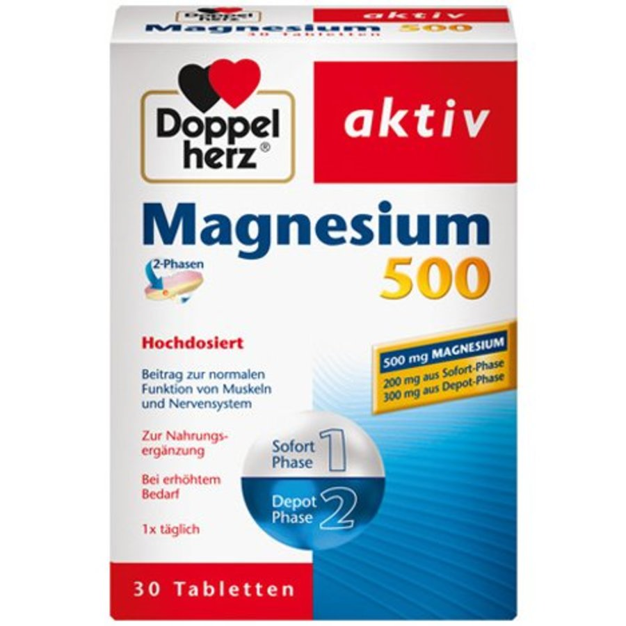 Magnesium 500 2-Phase 30 Tabletten