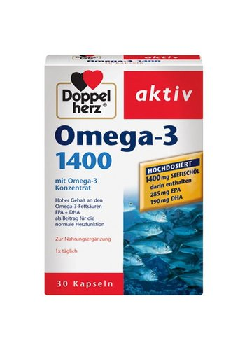 Doppelherz Omega-3 1400 30 Kapseln