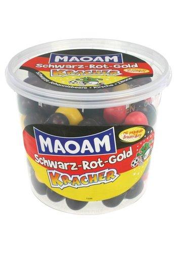 MAOAM MAOAM Schwarz-Rot-Gold Bombe 600g