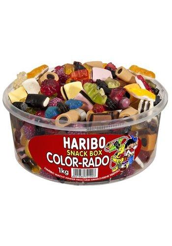 Haribo Haribo Rondedoos  Color Rado totaal mix  1kg