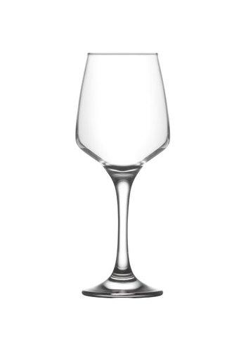 Neckermann Glas wijnglas 0,33 L helder, totale hoogte 20,5cm