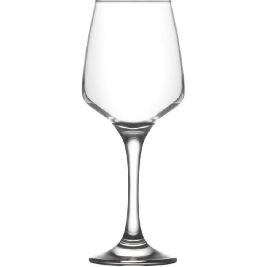 Glas Weinglas 0,33 L klar, Gesamthöhe 20,5 cm