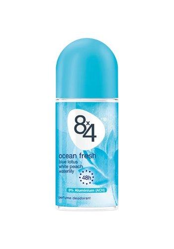 8x4 8x4 Deoroller 50ml Ocean Fresh