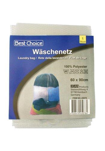 Best Choice Wäschespinne / Wäschebeutel 1er XL 60 x 90cm widetew. Tieback