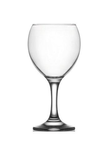 Glas wijn - of waterglas 0,2 L helder