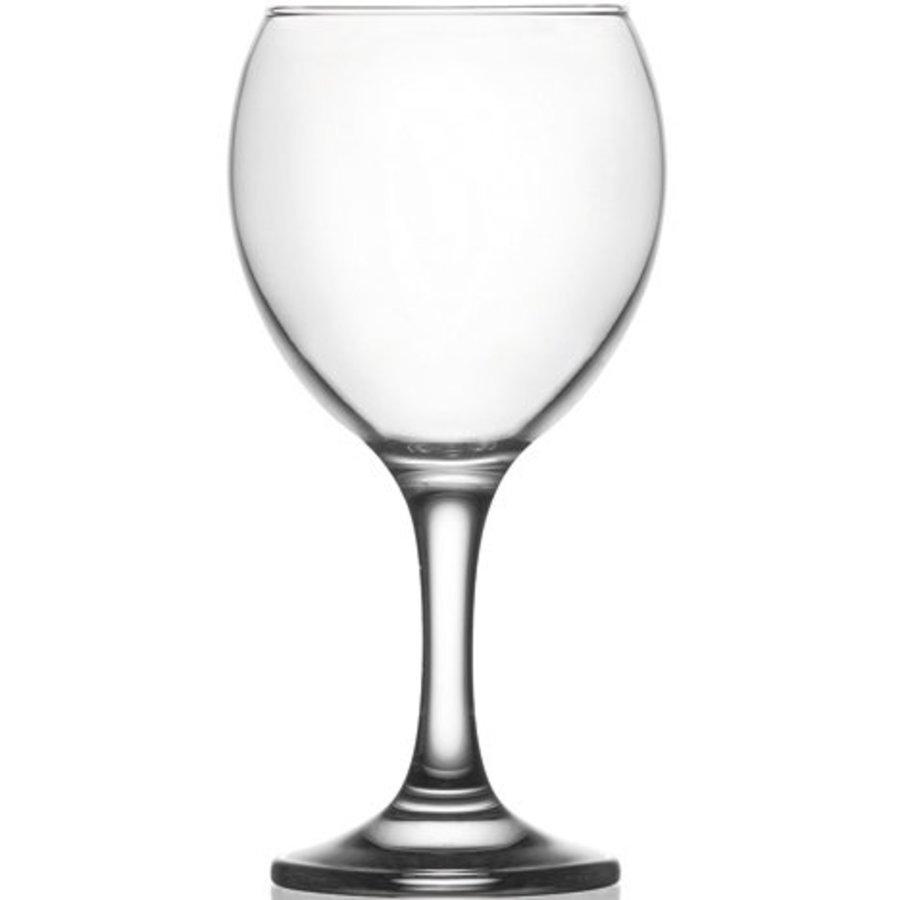 Glas Wein oder Wasserglas 0,2 L klar