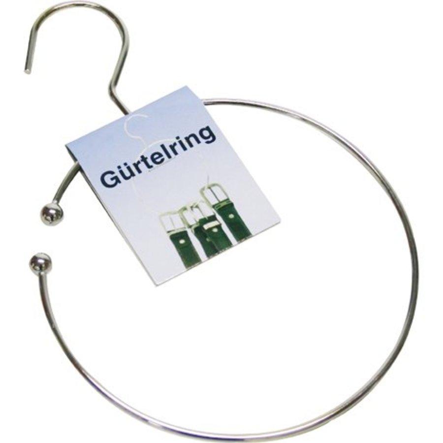 Gürtelring 16 cm Durchmesser + Haken für Garderobe