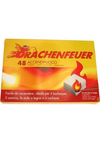 Drachenfeuer Grill / Kohleanzünder 48 Stück Würfel
