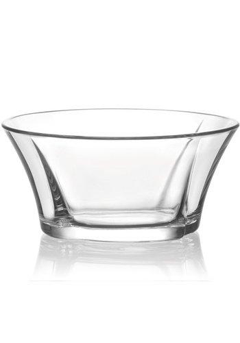 Glazen kom 0,25L Desair. + Saladestructuur 11,5x5cm