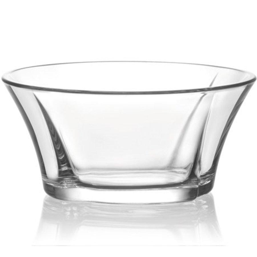 Glasschale 0,25L Desair. + Salatstruktur 11.5x5cm