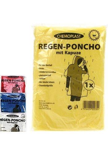 Chemoplast Regen Poncho unterwegs in einer Größe passt für alle
