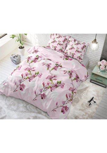 Sleeptime Dekbedovertrek Flower Blush Pink