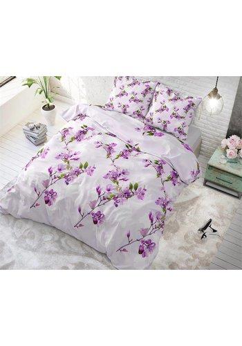 Sleeptime Dekbedovertrek Flower Blush Purple