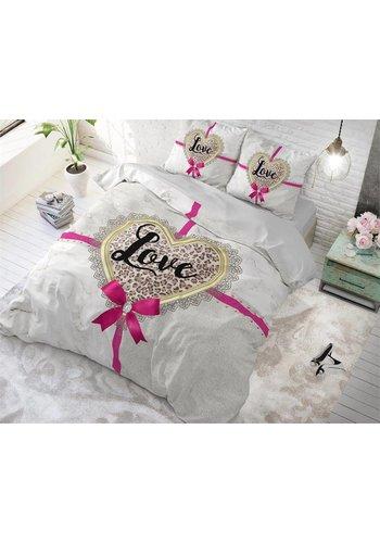 Sleeptime Dekbedovertrek All you need is love Sand