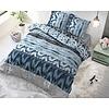 Sleeptime Bettbezug Shibori Retro Blau