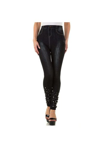 FASHION DESIGN Dames Leggings van Fashion Design one size - Zwart