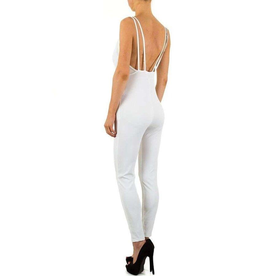 Damen Jumpsuit - weiß