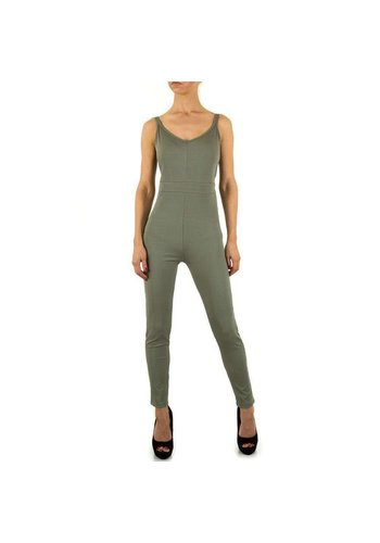 Neckermann Damen Jumpsuit - khaki