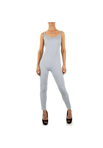 Neckermann Damen Jumpsuit - grau